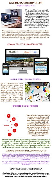 Website Design Agency in Birmingham