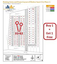 Book Plot No. 83 and Get Plot No. 93 Free in Dholera. 100% Legal Project.