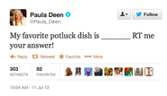 What not to tweet when your brand is in crisis - Paula Deen Situation