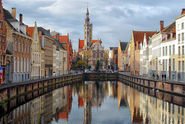 Bruges, emphatically touristic