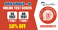 Online Test Series for RRB Group D Exam