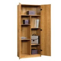 Oak Bookcase with Cupboard and More