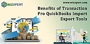 Transaction Pro: QuickBooks Import Export Tools| Key Features
