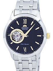 Orient Open Heart Automatic FAG03002B0 Mens Watch – Timepiecestowatches.com