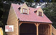 Add An Additional Space To Your House With An Oak Wood Garage