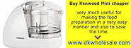 Valuable Features of Mini Chopper's