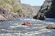 Get an exciting Victoria Falls Tandem Kayaking