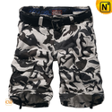 Mens Army Camo Cargo Shorts CW140196