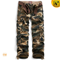 Camouflage Cargo Work Pants for Men CW140316