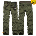 Designer Cotton Cargo Pants for Men CW140430