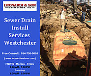 Sewer Drain Install Services Westchester