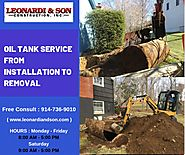 Oil Tank Installation & Removal Service | Sewer Drain install Westchester