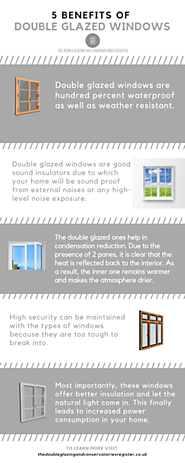 5 Benefits of Double Glazed Window