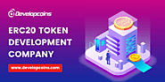 ERC20 Token Development Company | ERC20 Token Creation Services