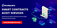 Smart Contracts Audit Services | Hire Smart Contract Developer - Developcoins