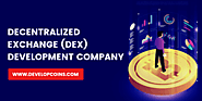 Decentralized Exchange Development Company - Developcoins