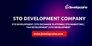 Security Token Offering | STO Development Services Company |Hire STO Developer
