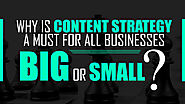 Why is content strategy a must for all businesses – Big or Small?