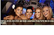 Prom Party Bus Long Island