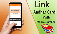 Link aadhaar with mobile number, online process to link aadhar with SIM