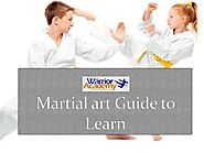 Martial art Guide to Learn at The Warrior Academy
