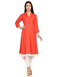 Tail Cut Kurti for Women