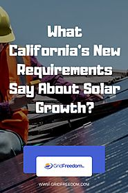 What California's New Requirements Say About Solar Growth