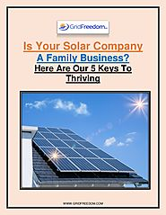 Is Your Solar Company a Family Business? Here are our 5 Keys to Thriving