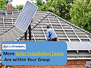 More Solar Installation Leads Are Within Your Grasp