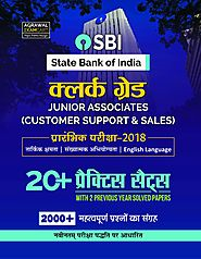 SBI Clerk 2018 Exam Book | 20 Practice Sets Plus 2 Solved Papers – Examcart