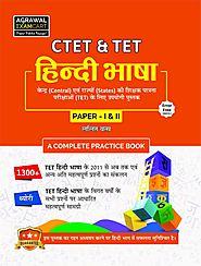 Buy CTET / TET- Hindi Bhasha Paper-I & II Book – Examcart