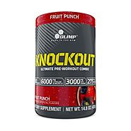 Olimp Labs Knockout - Fruit Punch | supplement products | Higher dose, Beta alanine, Fruit punch