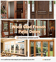 Wood Clad French Patio Doors