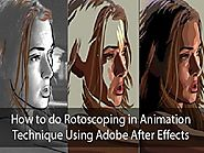 How to do Rotoscoping in Animation Technique Using Adobe After Effects