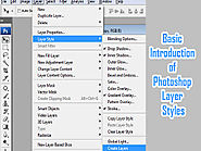 Basic Introduction of Photoshop Layer Styles - Animation Courses