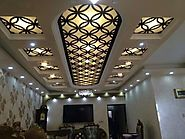 Designer Stainless Steel False Ceiling