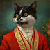 Cat Royal Family Paintings