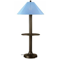 Amazon.com - Catalina Floor Lamp Bronze/With Table - Floor Lamps With Tray