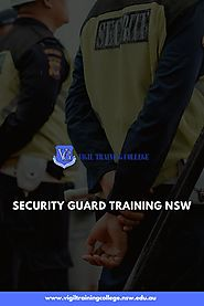 Security Guard Training NSW
