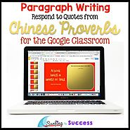 Chinese New Year 2018: Respond to Chinese Proverbs for the Google Classroom