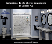 Professional Tub to Shower Conversions in Gilbert, AZ