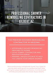 Professional Shower Remodeling Contractors in Gilbert AZ