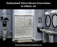 Professional Tub to Shower Conversions in AZ
