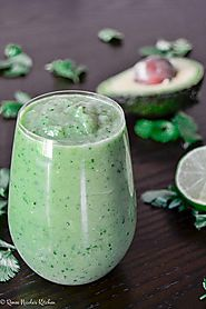 Website at https://reneenicoleskitchen.com/cucumber-avocado-smoothie/