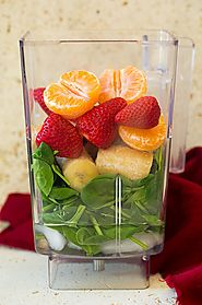 Strawberry Spinach Green Smoothie - Cooking Classy
