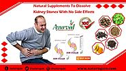 Natural Supplements to Dissolve Kidney Stones with No Side Effects