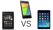 iPad Mini 2 vs Amazon Kindle Fire HDX vs Nexus 7 2013: The Battle For Xmas Domination Begins!