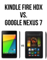 Kindle Fire HDX vs Google Nexus 7
