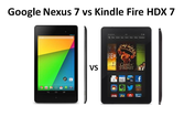 Kindle Fire HDX vs Google Nexus 7 2013