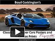 PPT on Classic Cars, Super Cars Posters and Canvas Prints